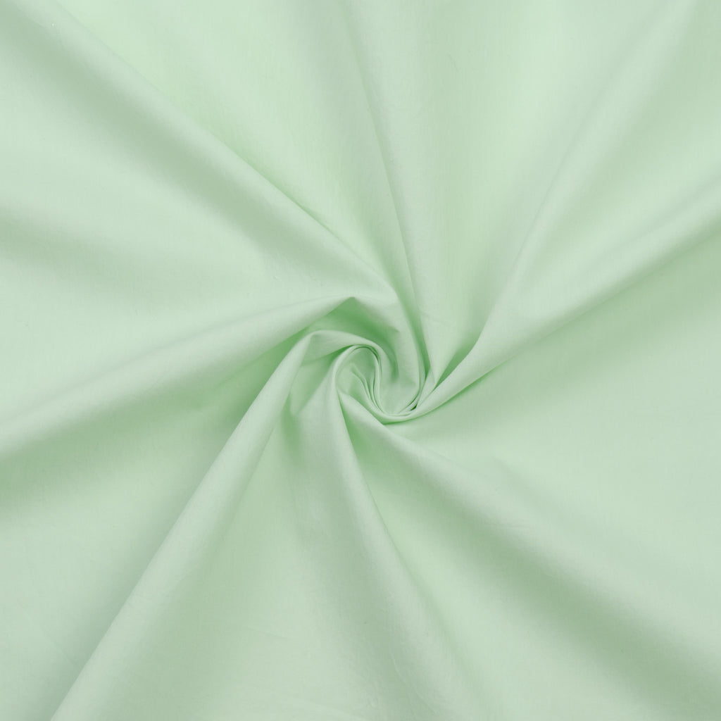 Tacita Mint Green Cotton Poplin