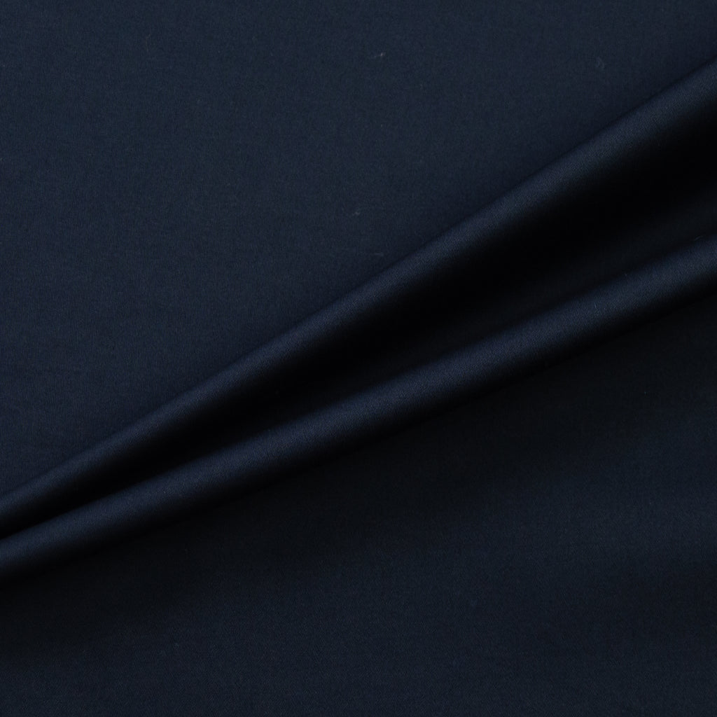 Taber Navy Blue Stretch Cotton