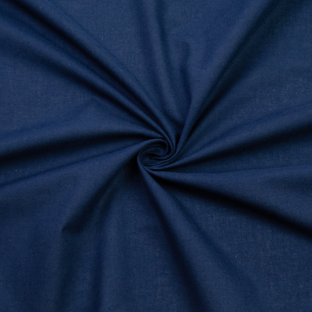 Sefton Navy Blue Cotton