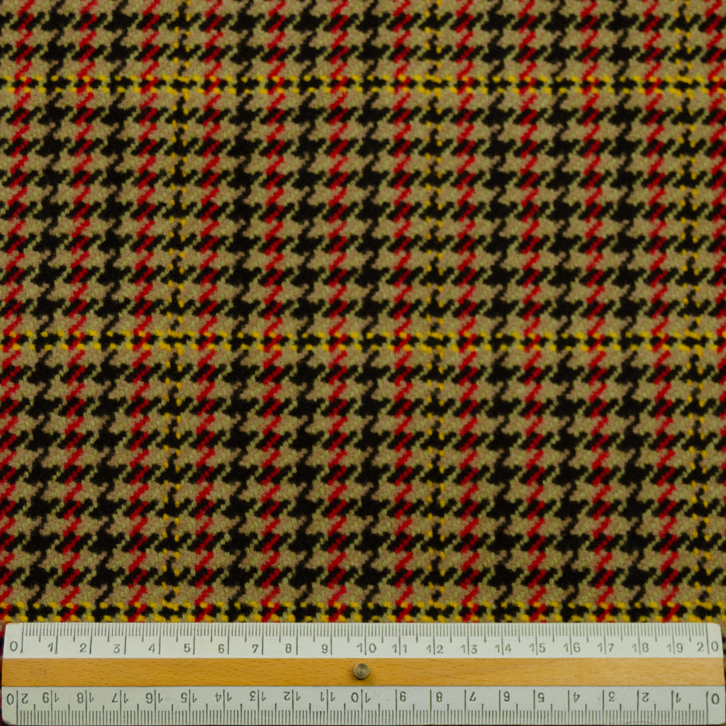Willow Houndstooth Virgin Wool Blend