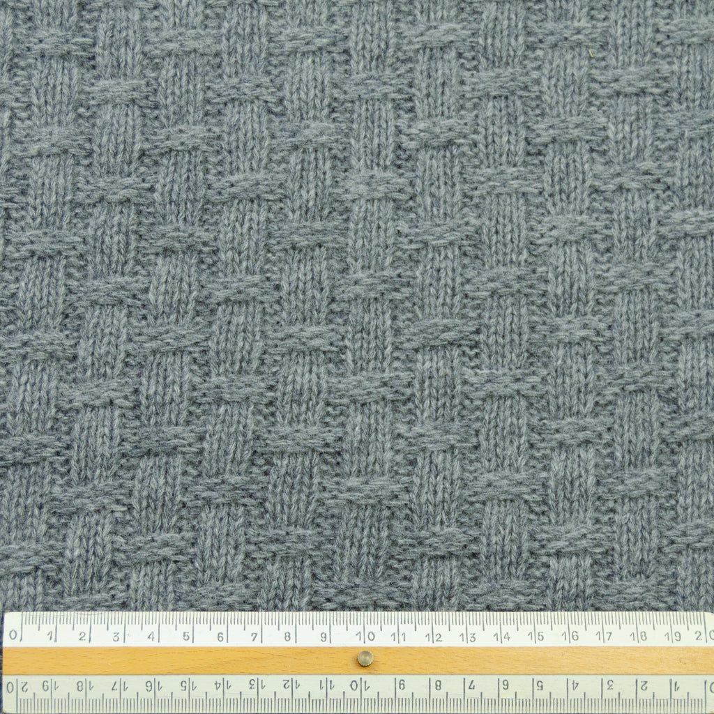 Toki Grey Knitted Wool