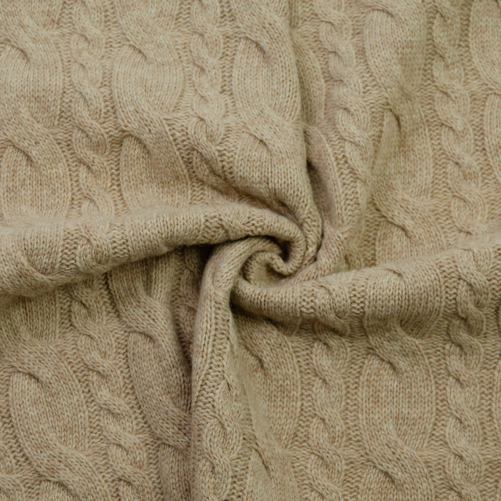 Chiara Camel Knitted Wool