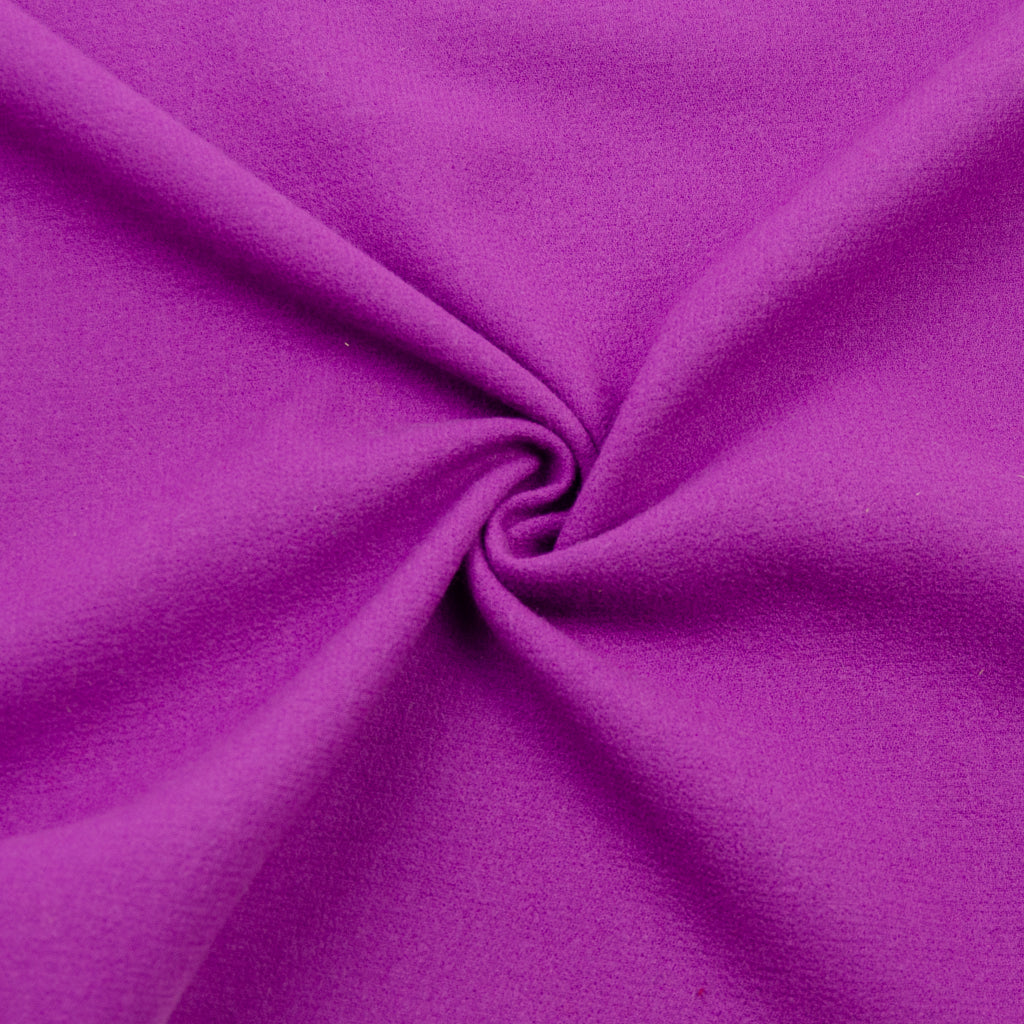 Tlalli Purple Double-sided Wool