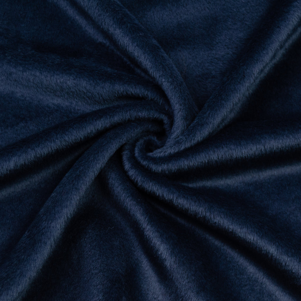 Sachiko Navy Blue Virgin Wool & Cashmere