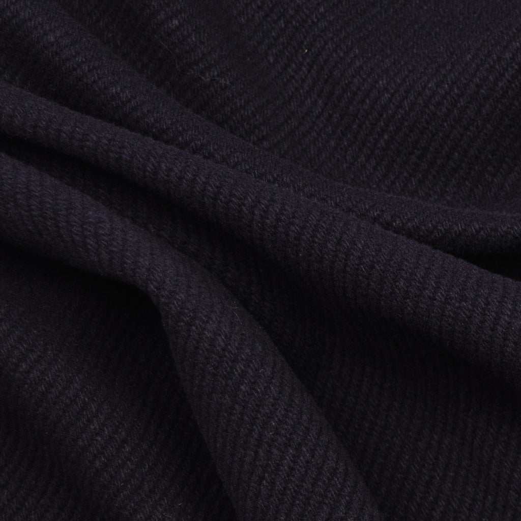 Taye Navy Blue Wool Blend