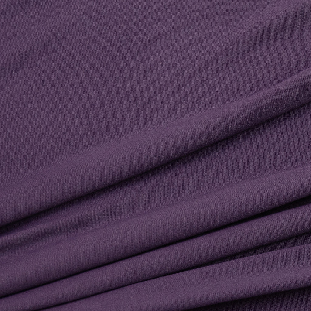 Ulvi Dusty Purple Viscose Jersey