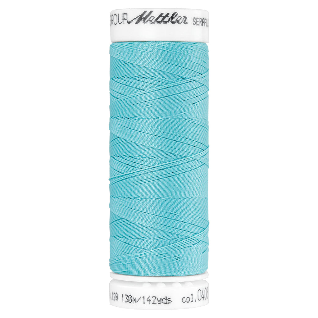 Elastic Sewing Thread Seraflex 0408 Aqua