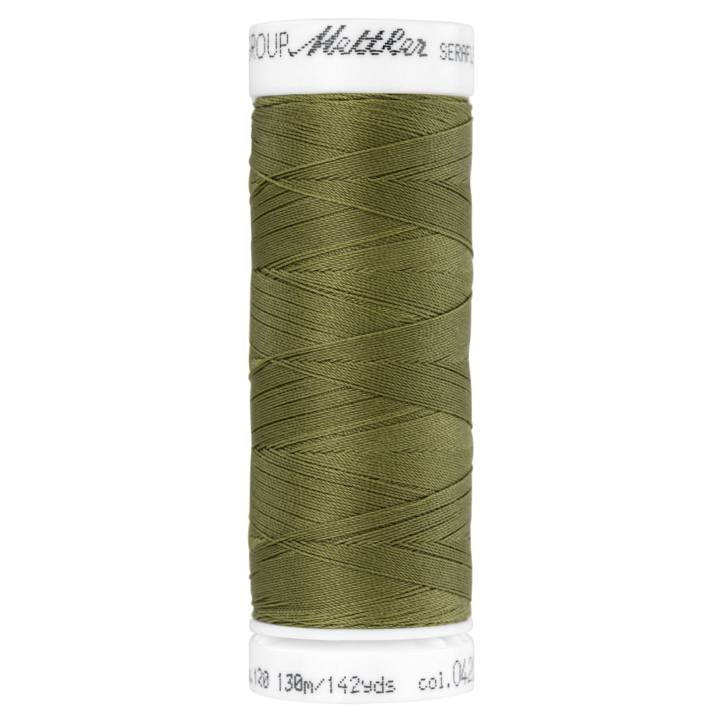 Elastic Sewing Thread Seraflex 0420 Olive Drab