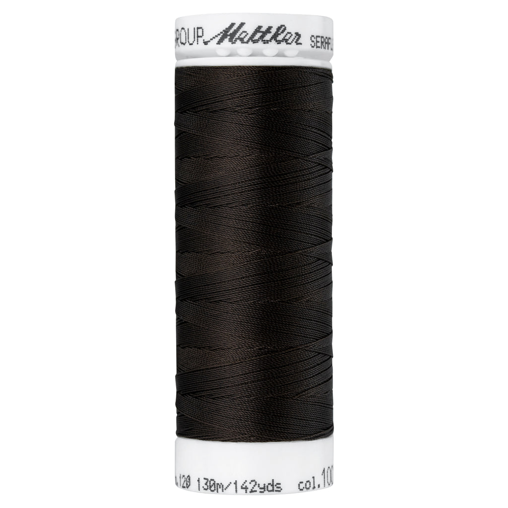 Elastic Sewing Thread Seraflex 1002 Very Dark Brown