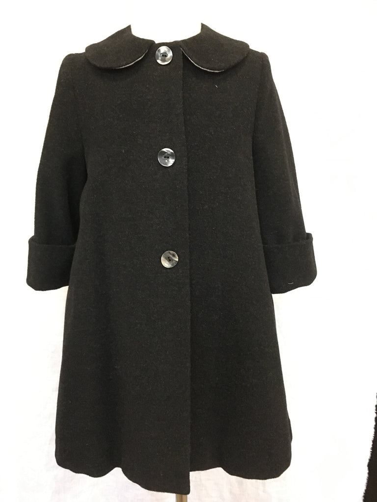Classic Aline Coat - Wool/Cashmere -one size 4 left