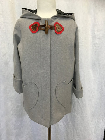 Lana Wool/Cashmere Duffle Coat -One size 6 left