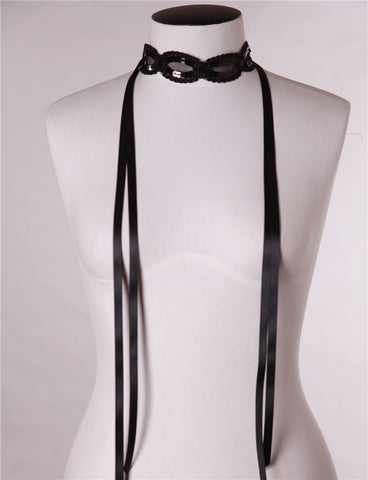 Charlize Necktie and Waist Belt