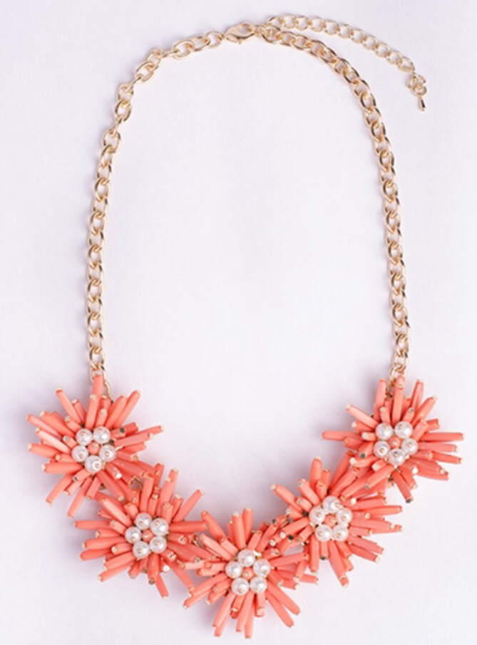 Star Burst Statement Necklace