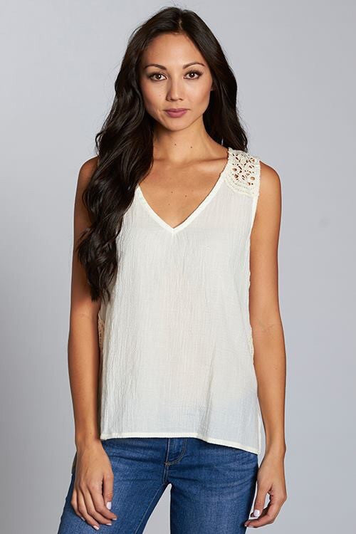 Crochet Laced Tank