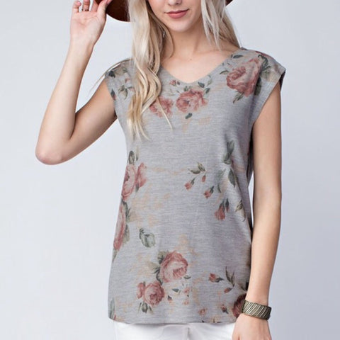 Fresh Cut Floral Top