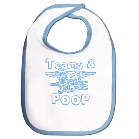 Trident Teams and Poop Bib