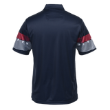 Men's Trident Patriot Navy Blue Polo