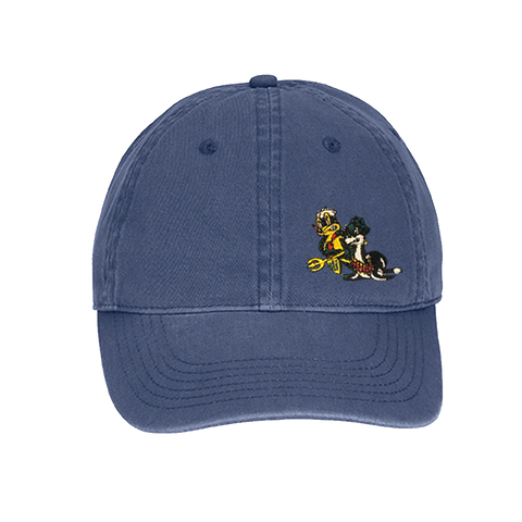 Freddy & Sammy Direct Dyed Blue Baseball Cap