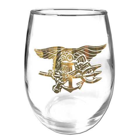 Trident Stemless Wine Glass