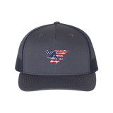 Trident Red/White/Blue Flag Trucker Cap