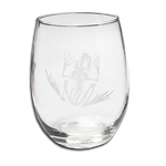 Bone Frog Stemless Wine Glass - UDT-SEAL Store  - 1
