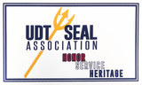 UDT SEAL Association Decal