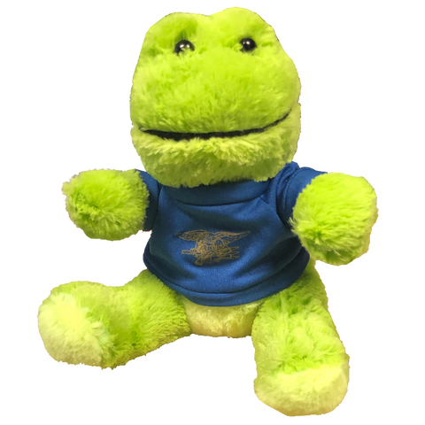 Stuffed Frog with Trident T-Shirt