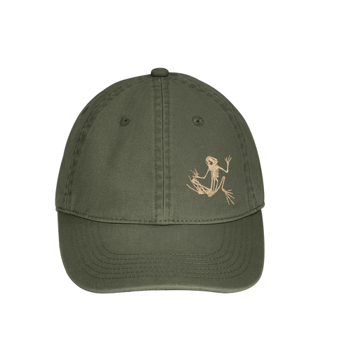 Bone Frog Direct-Dyed Baseball Cap