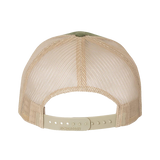 Bone Frog Olive and Tan Trucker Hat