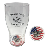 Bone Frog Bar & Grill Pub Glass - UDT-SEAL Store  - 1