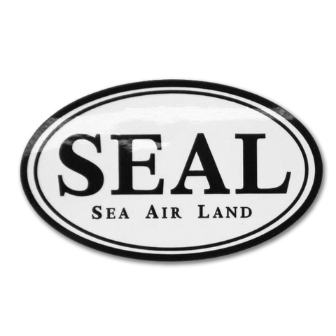 SEAL Oval Decal