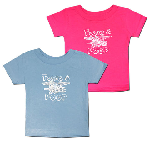 Toddler Trident Teams & Poop T-Shirt