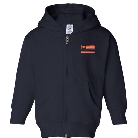 Infant/Toddler Trident Flag Full-Zip Hoodie
