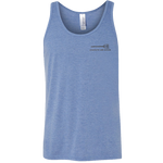 Red - White - Blue Bone Frog Tank Top with Strength and Honor