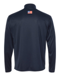Trident Quarter Zip Pullover with American Flag