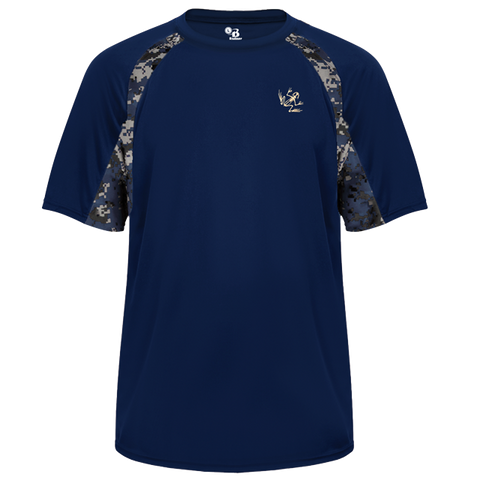 Bone Frog Sport Digital Camo Performance Shirt