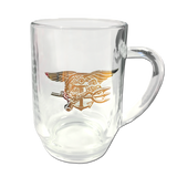Trident Glass Coffee Mug - UDT-SEAL Store  - 1