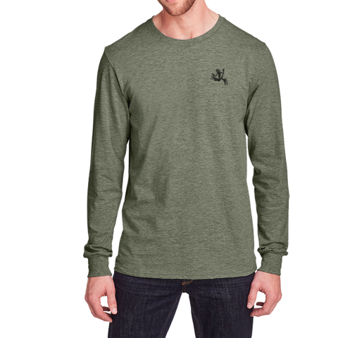 Bone Frog Iconic Long Sleeve Tshirt