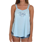 Ladies Strappy Tank with Navy SEAL Scrolly Design