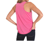 Ladies Trident Twisty Neck Tank
