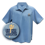 UDT-SEAL Association Polo Shirt in Blue Lake - UDT-SEAL Store  - 1