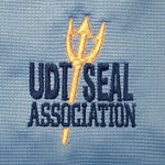 UDT-SEAL Association Polo Shirt in Blue Lake - UDT-SEAL Store  - 3