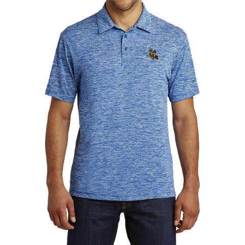 Men's Freddy & Sammy Association Electric Heather Polo Shirt