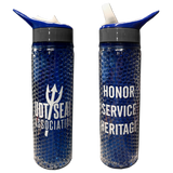 UDT-SEAL Association Gel Bead Sports Bottle