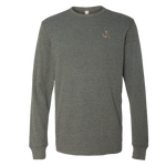 Bone Frog Heather Gray Bella+Canvas Thermal Tee