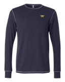 Trident Navy Bella+Canvas Thermal Tee