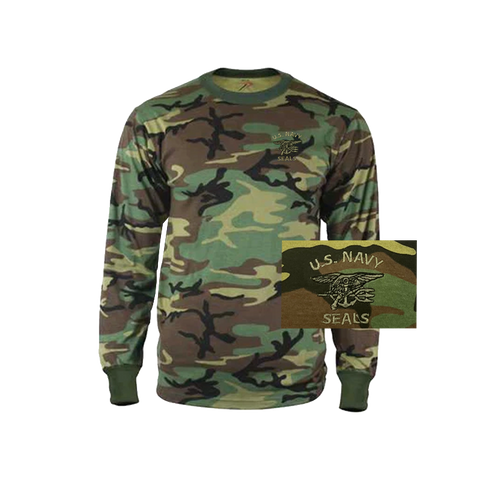 Rothco Trident Kid's Camo Long-Sleeve