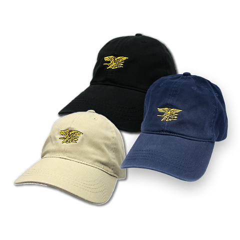 Hat with Gold Trident - UDT-SEAL Store  - 1
