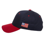 Youth Navy Hat with Flag