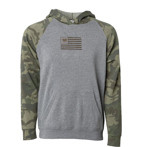 Youth SEAL Flag Camo Hooded Sweatshirt